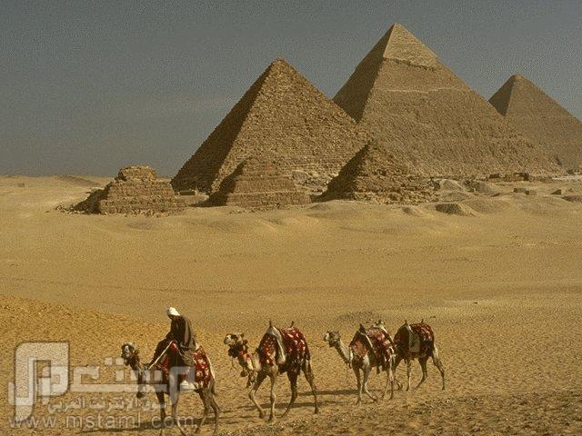 حقيقة بناء الأهرامات ( قوم عاد والفراعنة ) الأهرامات