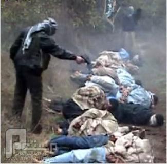 عملية اعدام جماعي ينفذها فيلق القدس منظرمحزن هاذا مايفعله من يحسبون علينا مسلمين