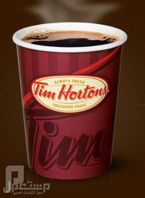قهوه تيم هورتن TIM Hortons