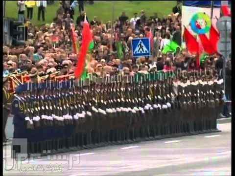 بالفيديو: روسيا تذهل العالم بعرض عسكري علي طريقة؟ عرض الدمنو العسكري الروسي