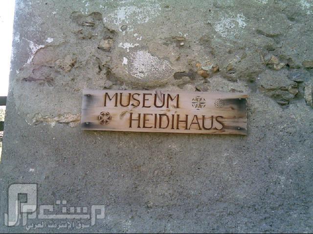 سواق ليموزين وقصصه مع الناس ( دولة سويسرا وهايدي ) منزل هايدي الذي تحول الى متحف