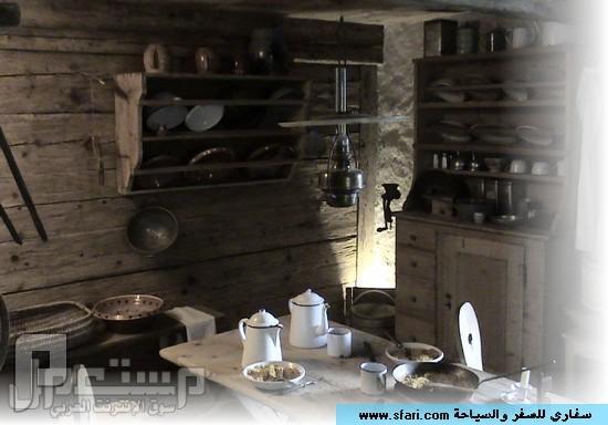 سواق ليموزين وقصصه مع الناس ( دولة سويسرا وهايدي ) المطبخ 2