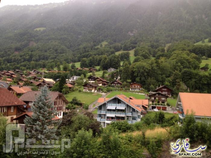 سواق ليموزين وقصصه مع الناس ( دولة سويسرا وهايدي ) مناظر جميلة من سويسرا 2