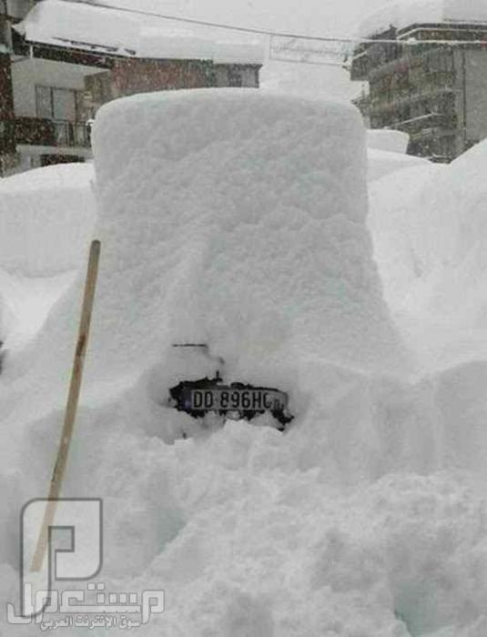 الثلوج المرعبه !!!