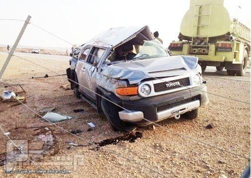 إصابة الأمير محمد بن سعود بن فهد في حادث ووفاة سائقه