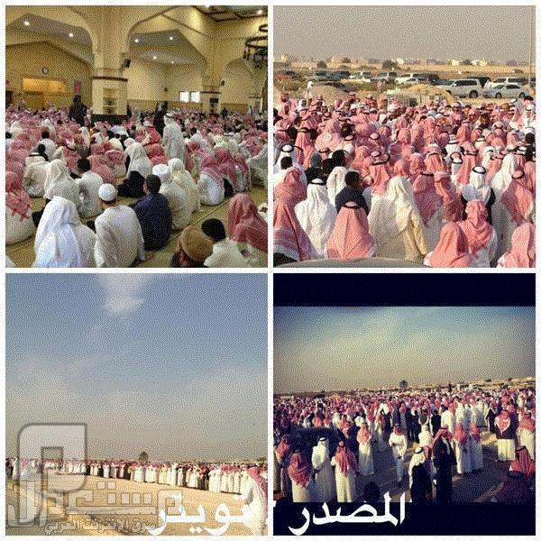 جنازة الشيخ سلطان العويد رحمة الله