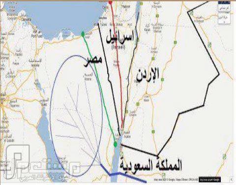 مخاوف اسرائيل من الجسر البري بين مصر والسعودية