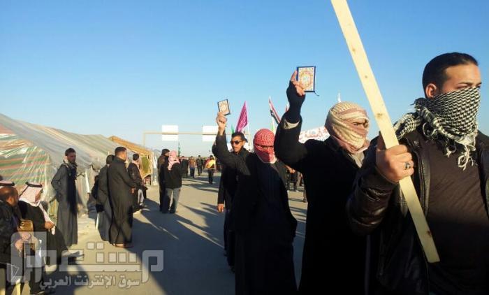 سلسلة صورة ثورة الانبار اليوم وقبل يوم مدينة الفلوجة
