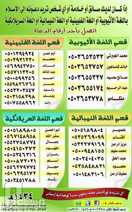 ارقام لدعوة غير المسلمين لأغلب لغات العالم ... ساهم في نشرها فربما ...