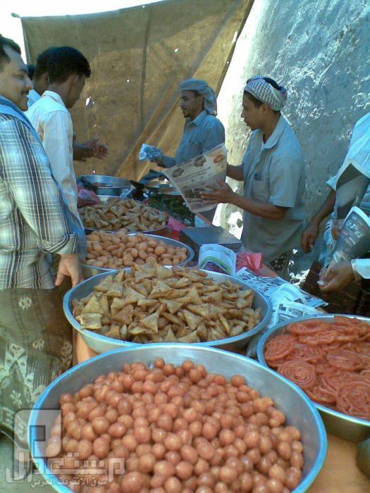 مناظر ولا اروع منها من حضرموت ( الجزء الاول) السوق في رمضان