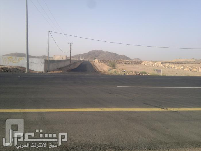 بشرى استئناف البيع في الجزء المتبقي من مخطط النزهه بوادي بن هشبل مدخل المخطط من الطريق العام المزدوج