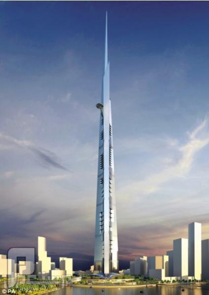 شركتان بريطانيتان توقعان عقد بناء برج المملكة بجدة