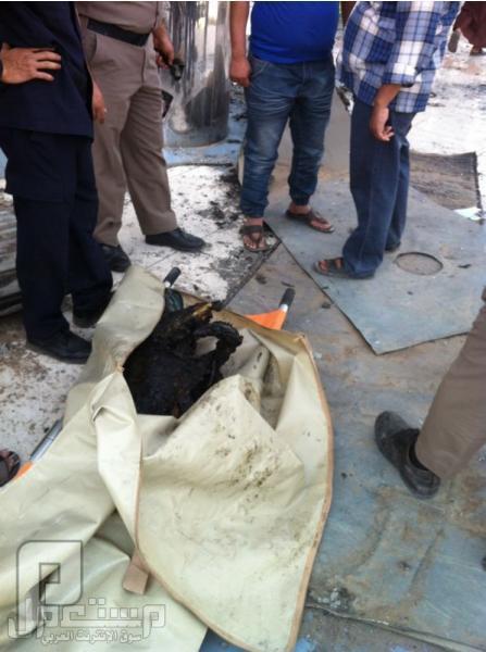 العثور علا جثة في حريق الهرم بالنسيم