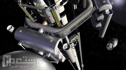 شركة يابانية تبني مصعد للفضاء عام 2050م (بالصور)...