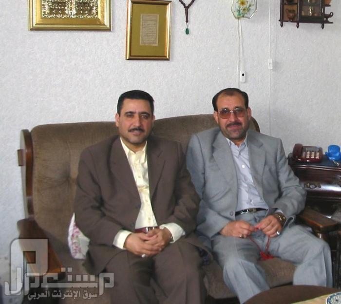 صور هامه ونادره لقادة حزب الدعوة ومعهم المالكي