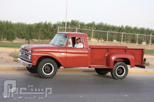 مواطن يجدد سيارة «هاف» اشتراها والده قبل 45 عاماً صنعتها شركة«فورد» عام 1966