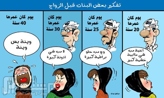 تفكير بعض البنات قبل الزواج !!