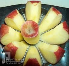 قطاعة البطيخ والتفاح