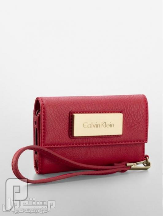 IDream shop   التكنولوجيا بين يديك محفظة ايفون 5 ماركة كالفن كلاين أصلية 100%