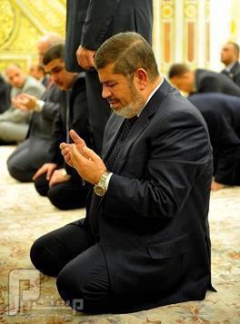 الرئيس المنتخب محمد مرسي