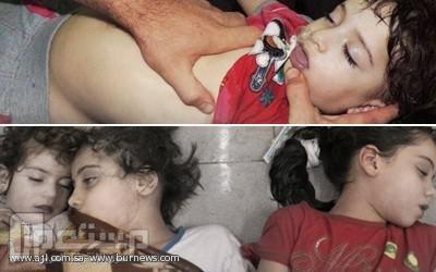 سوريا.. عشرات القتلى بقصف بالكيمياوي بدمشق وريفها .. ( فيديو