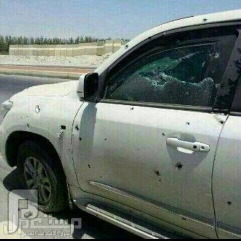 إصابة آلمواطنين عبدالله محمد المنصوري الشمري وعبدالكريم محمد الشمري