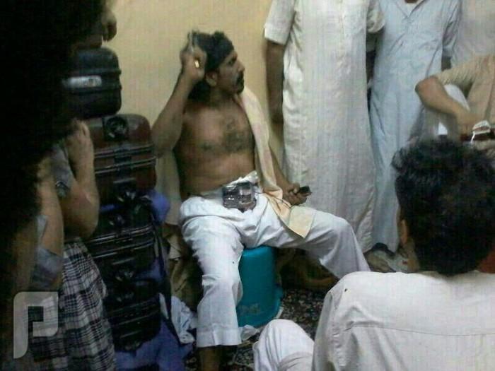 سجين بالمدينه يهدد بحزام ناسف ومسدس اليوم الصباح