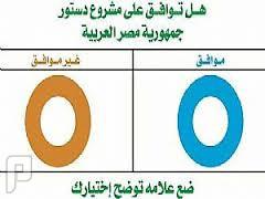 اكتساح ( نعم ) في دستور جمهورية مصر 2014حتى الان