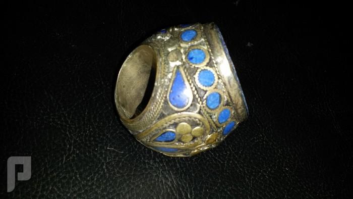 مجموعة من الخواتم والاختام الايرانية التراثية  من الفضة والعقيق البند6
