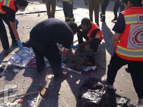 انفجار غاز يخلف قتيلاً و18 مصاباً في مطعم شرق الرياض