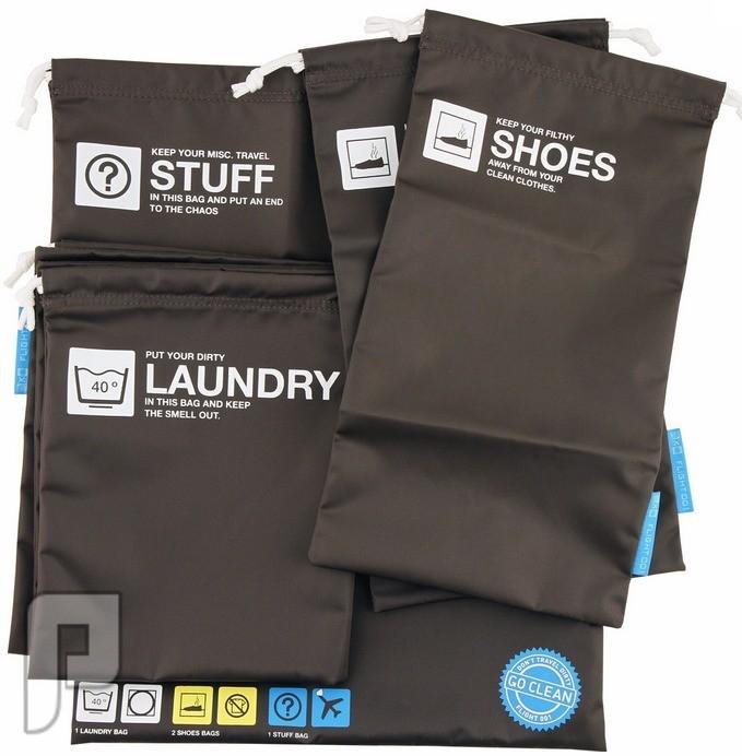 فكرة مشروع جديدة لمن اراد الاستفادة منها اكياس لحفظ الملابس المتسخة والجزم