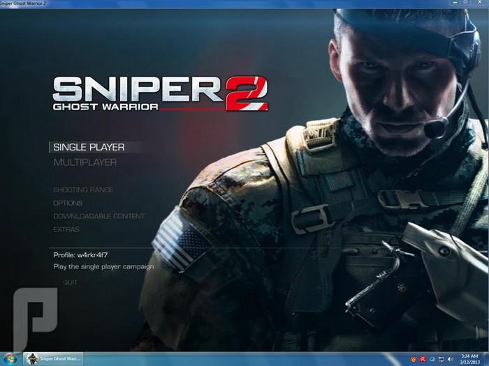 تحميل اللعبة الرائعة SNIPER GHOST 2 لأجهزة PC