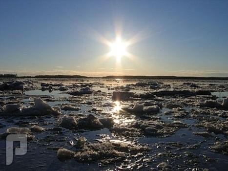 شاهد الشمس لا تغرب أبدا خلال الصيف في القطب