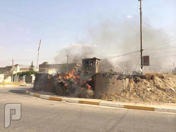 عاااجل احداث الثورة السنية بالعراق ضد حكومة المالكي والصفويين الموصل