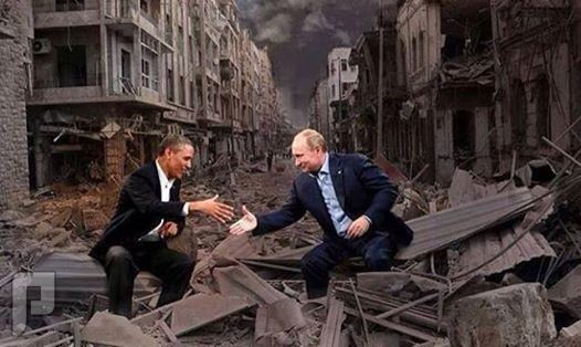 القاتل و المقتول عربي و المستفيد غربي هذه هي الحرب العصرية