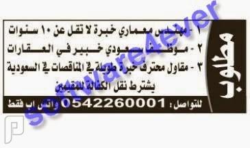 وظائف للجنسين في بعض مناطق المملكة (الجزء الأول) 1435 وظائف في الرياض