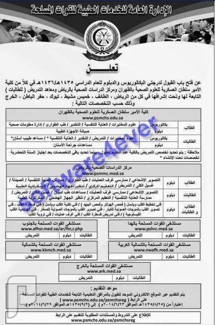 وظائف للجنسين في بعض مناطق المملكة (الجزء الأول) 1435 وظائف للجنسين في الوسطى والغربية والجنوبية والشمالية