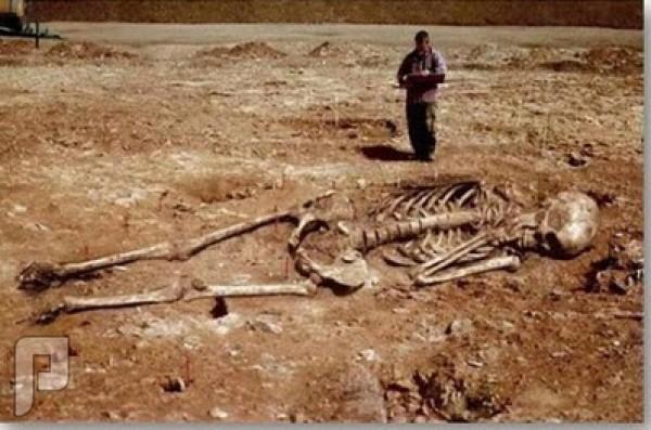 بالصور.. جثث قوم عاد العمالقة