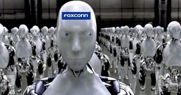 مصنع فوكسكون يستعين ببعض الروبوتات لتصنع أيفون 6
