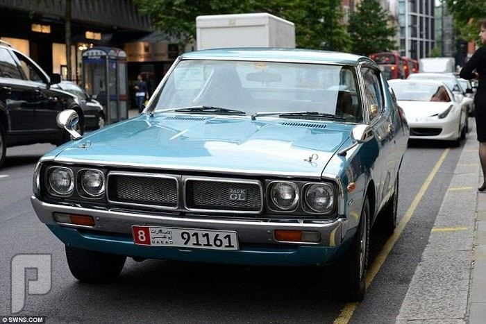 سيارات أثرياء الخليج في صيف لندن 2014 والله من الفضاوة