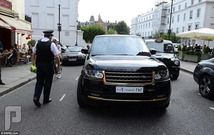 سيارات أثرياء الخليج في صيف لندن 2014 يعطيك جوانح