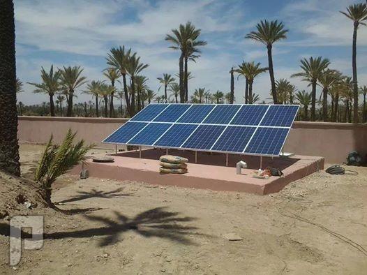 الطاقة الشمسية استخدام الخلايا الشمسية في توليد الكهرباء في المزارع