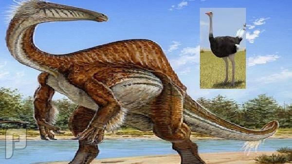 """الديناصور الذي كان """"يشفط"""" فريسته كالمكنسة الكهربائية"""