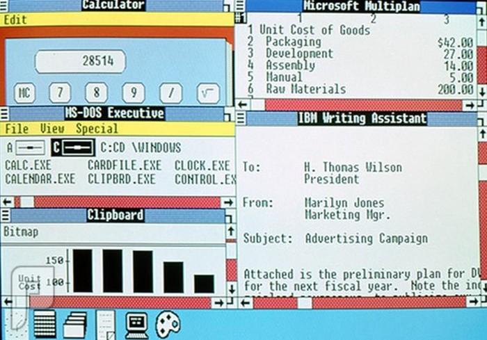 اصدارات وندوز والصراع بين شركات نظام أندرويد وأبل ويندوز 2.0 (1987-1990)
