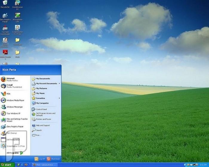 اصدارات وندوز والصراع بين شركات نظام أندرويد وأبل ويندوز إكس بي (2001-2005)