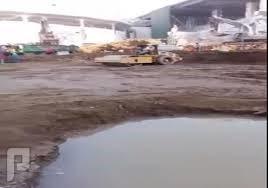 اثناء التوسعة والحفر بقرب الحرم المكي نبع ماء زمزم