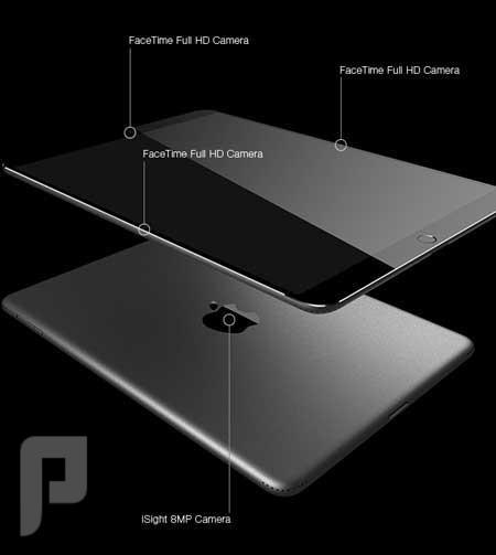 أيباد بشاشة ضخمة بتقنية أبل المميزة