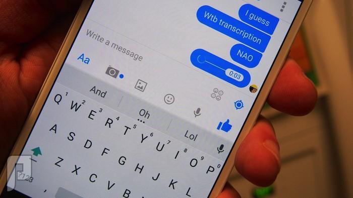 تحديث Facebook Messenger يتيح قراءة الرسائل الصوتية!!