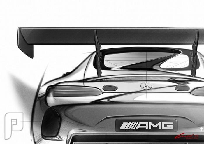 أولى صور مرسيدس AMG GT GT3 تقتحم الشبكة العنكبوتية