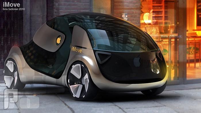 تعرف على IMove السيارة ذاتية القيادة من أبل